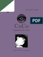 CuCo, Cuadernos de Cómic # 05, Dic 2015