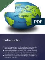 Global Perspectives of Curriculum Development