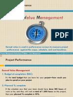 Project Management - Earned Value Management - Primavera P6