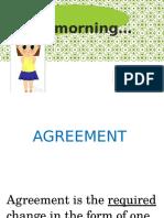 Agreement Ppt