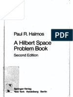 (Graduate Texts in Mathematics) P.R. Halmos-A Hilbert Space Problem Book-Springer (1982)
