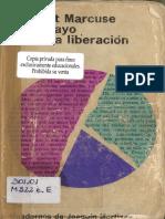 Marcuse H. Un Ensayo Sobre La Liberacion (1)