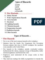 Fire Hazard PPT