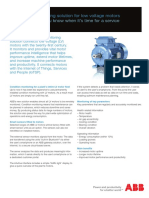 ABB Service Note Condition Monitoring Low Voltage Motors Update 300 DPI