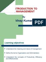 Management- Chapter 1