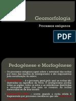 Geomorfologia Processos Exógenos
