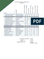 B - Calificaciones 3er Parcial