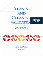 Texwipe PDA Cleaning and Cleaning Validation Chapter19