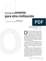 Otra Economía Para Otra Civilización