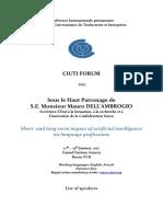 CIUTI Forum 2017 - List of speakers
