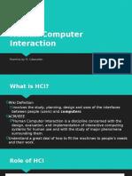 1 Human Computer Interaction