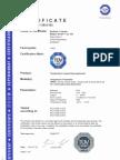 Certificado SIL TMT82 (6230-TXT-121)