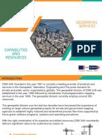 Global Geospatial Service Providers