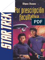 Por Prescripcion Facultativa - Diane Duane