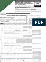 Palace 2008 Form 990