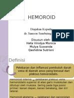 refrat hemoroid