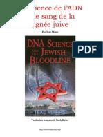Marrs Texe - La Science de l'ADN Et Le Sang de La Lignée Juive