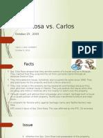 Dela Rosa vs Carlos - OSIT