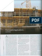 Formwork Applications - The Master Builder December 2016
