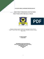 Laporan Kuliah Kerja Lapangan Profesi Vin Edit