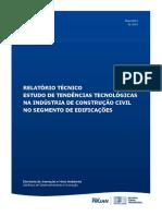 Sistema Firjan Tendencias Tecnologicas Construcao Civil Edificacoes 2013