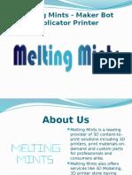 Buy MakerBot Replicator - Best Affordable 3D Printer Mumbai