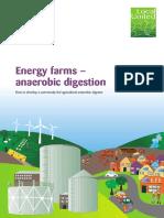 Energy Farms-Anaerobic Digestion