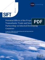 Potential Effects of the Proposed Transatlantic Trade and Investment Partnership on Selected Developing Countries_DFID_Final Report_July2013