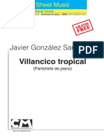 Villancico Tropical Piano