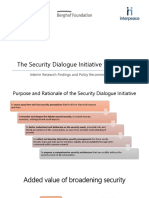 Security Dialogue Presentation (1)
