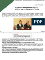 2015 La Meuse - Le Mari de La Juge M Doutrèwe s'Exprime