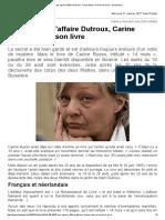 20 Ans Après l'Affaire Dutroux, Carine Russo a Écrit Son Livre - Lameuse