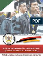 Máster Prevención Organización Gestión Riesgos Laborales