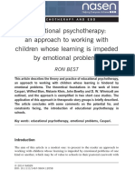 Educational Psychotherapy
