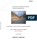 Environmental and Social Impact Assessment Framework, Governorate of Duhok, KRI