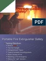 2004 Fire Extinguisher Training