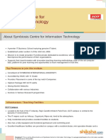 Symbiosis Centre for Information Technology