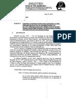 Administrative Order 2009-0011