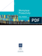 Workplace Productivity Poll Findings
