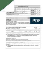 Diccionario de La Edt - Proyecto de Irrigacion - Sullana - Piura