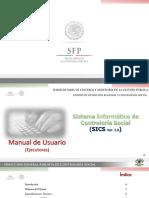Manual de Usuario Ejecutores SICS