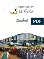 Handbook - University of Lusaka