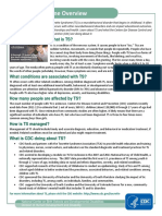 Tourette Fact Sheet Cdc