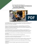 Charla Trabajadores Recolectores de Residuos