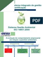 Aula 2 - Histórico Sistema de Gestão Ambiental