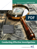 ACL Conducting Effective Investigations