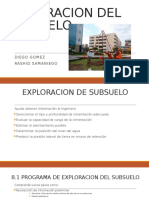 Exploracion Del Subsuelo(Todo El Capitulo 8)