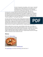 History of 3 Popular Food