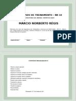 Certificado de Treinamento – NR 10