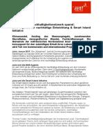 +++ Pressemeldung - Nordseeinsel Juist Teil der 2030 Agenda für Nachhaltigkeit & Smart Islands Initiative +++